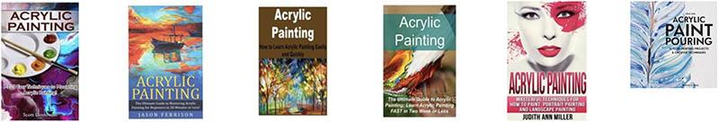acrylic painting books